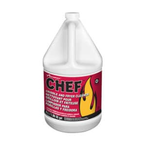 CHEF Griddle and Fryer Cleaner