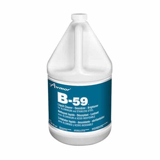 B-59 Liquid Cleaner, Deoxidizer, Brightener for Aluminium and Stainless Steel