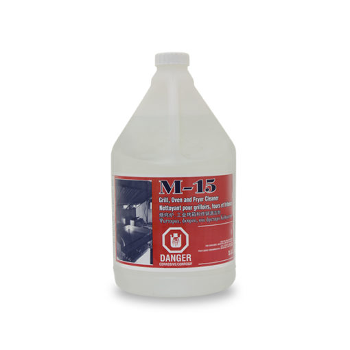 M-15 Grill oven and fryer cleaner