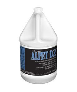 Alpet d2 no rinse hard surface sanitizer