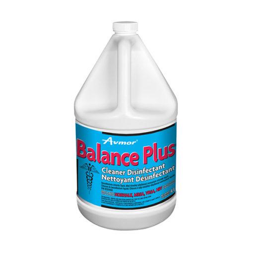 Balance plus cleaner disinfectant