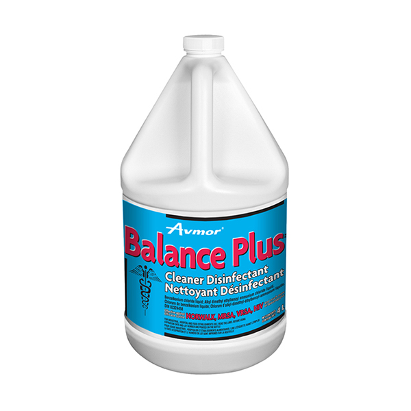 Balance plus cleaner disinfectant